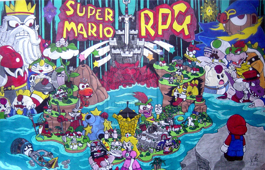Super Mario Rpg Wallpaper Wallpapersafari