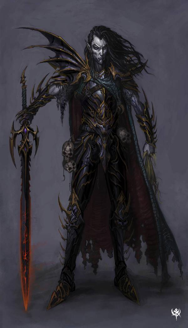 5e Campaign World and Musings Dark Elves in Era 600x1048