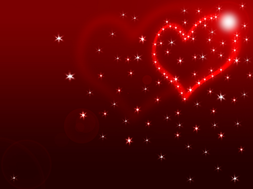 Happy Valentines Day Hearts Wallpaper 1024x768