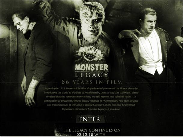 Universal Classic Monsters Wallpaper Experience universals monster 609x457