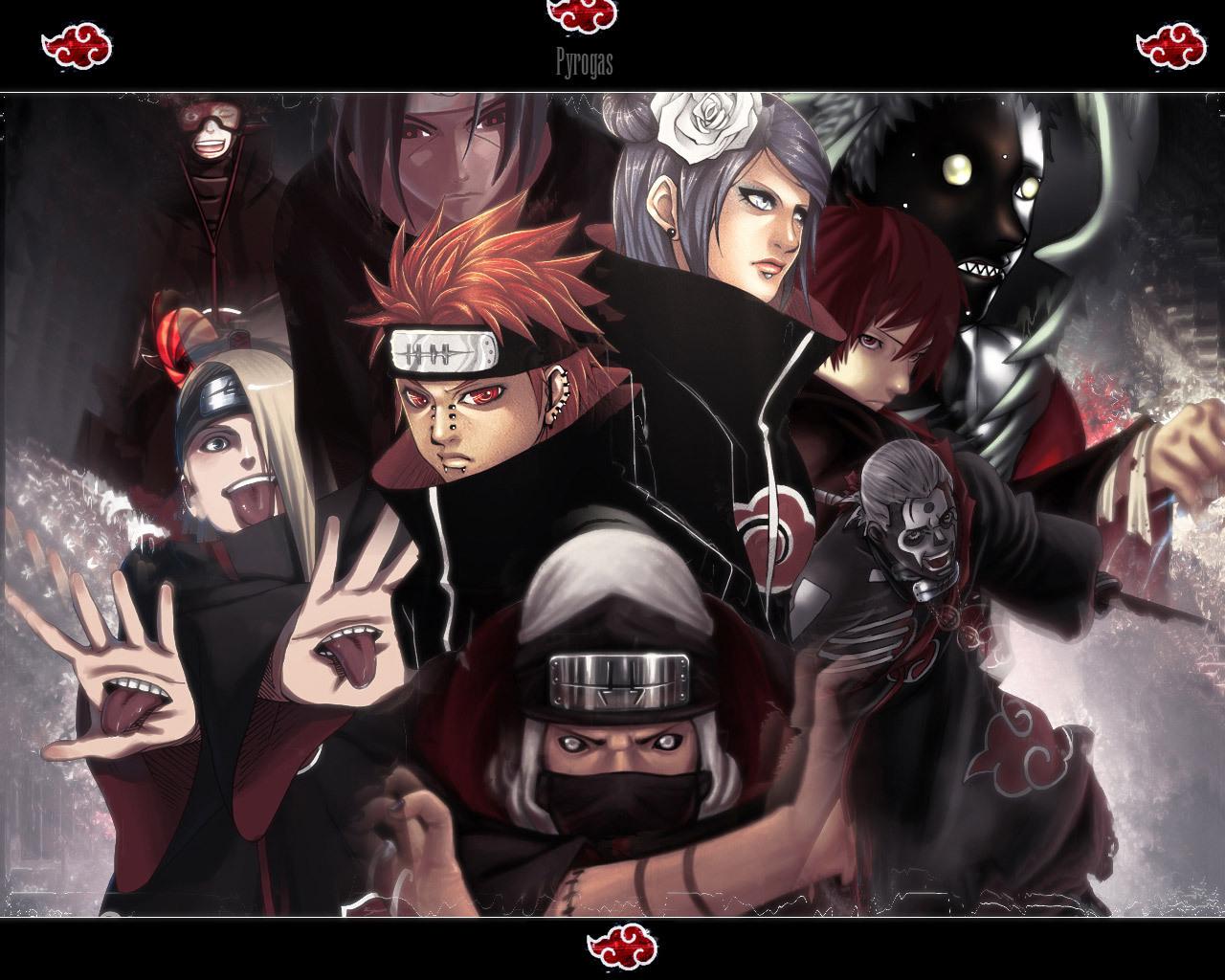 AKATSUKI WALLPAPERS   Naruto Wallpaper 6780542 1280x1024