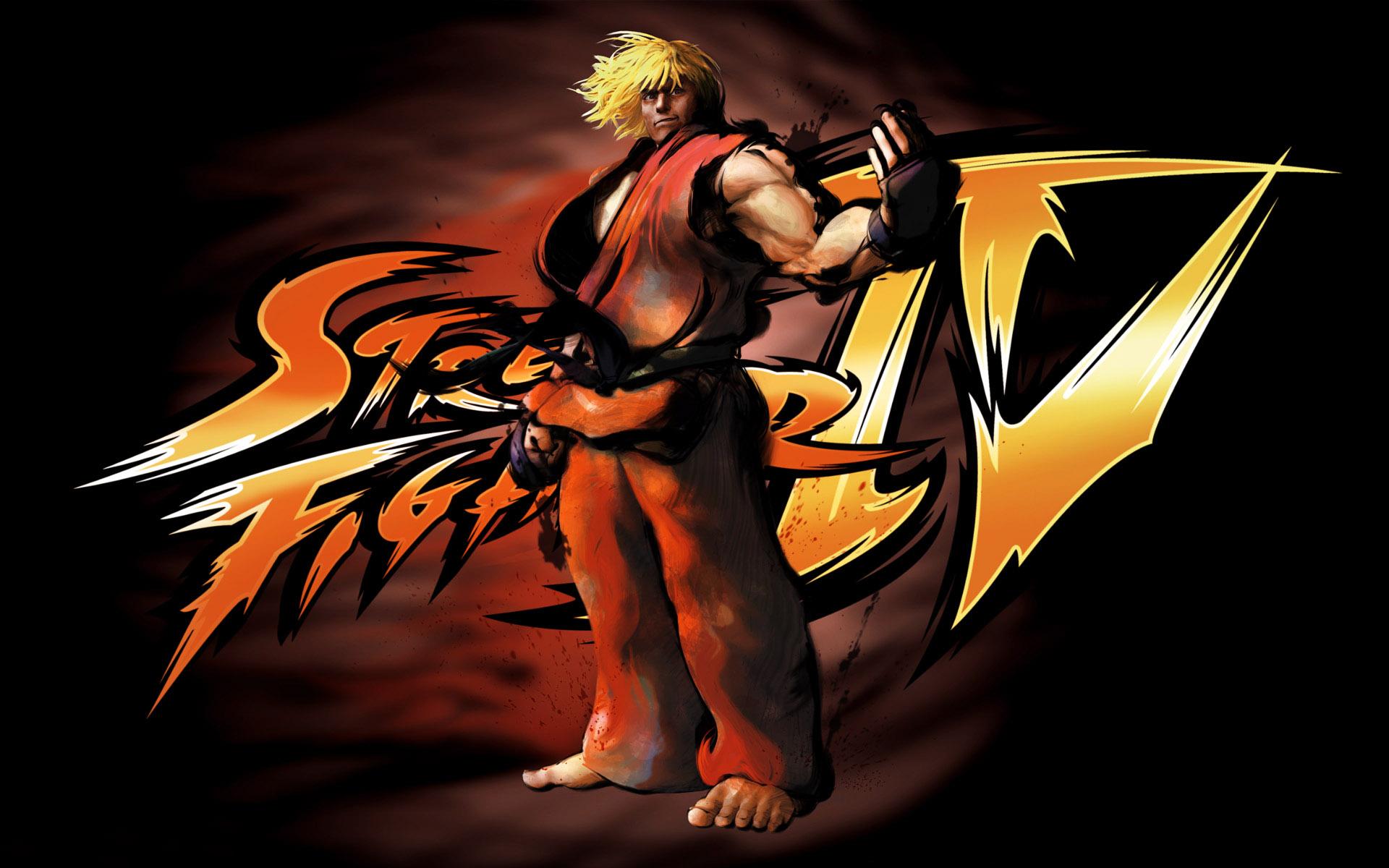 Street Fighter 4 Wallpapers: Ken Street Fighter Wallpaper