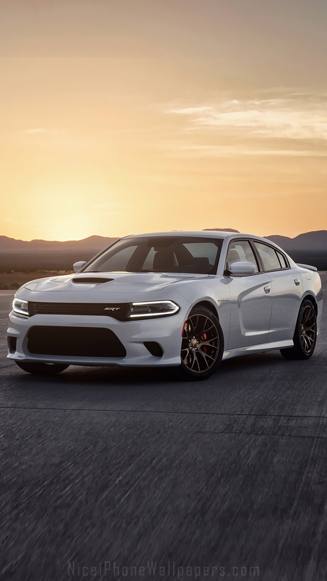 2015 Dodge Charger SRT iPhone 5 wallpaper and background 640x1136