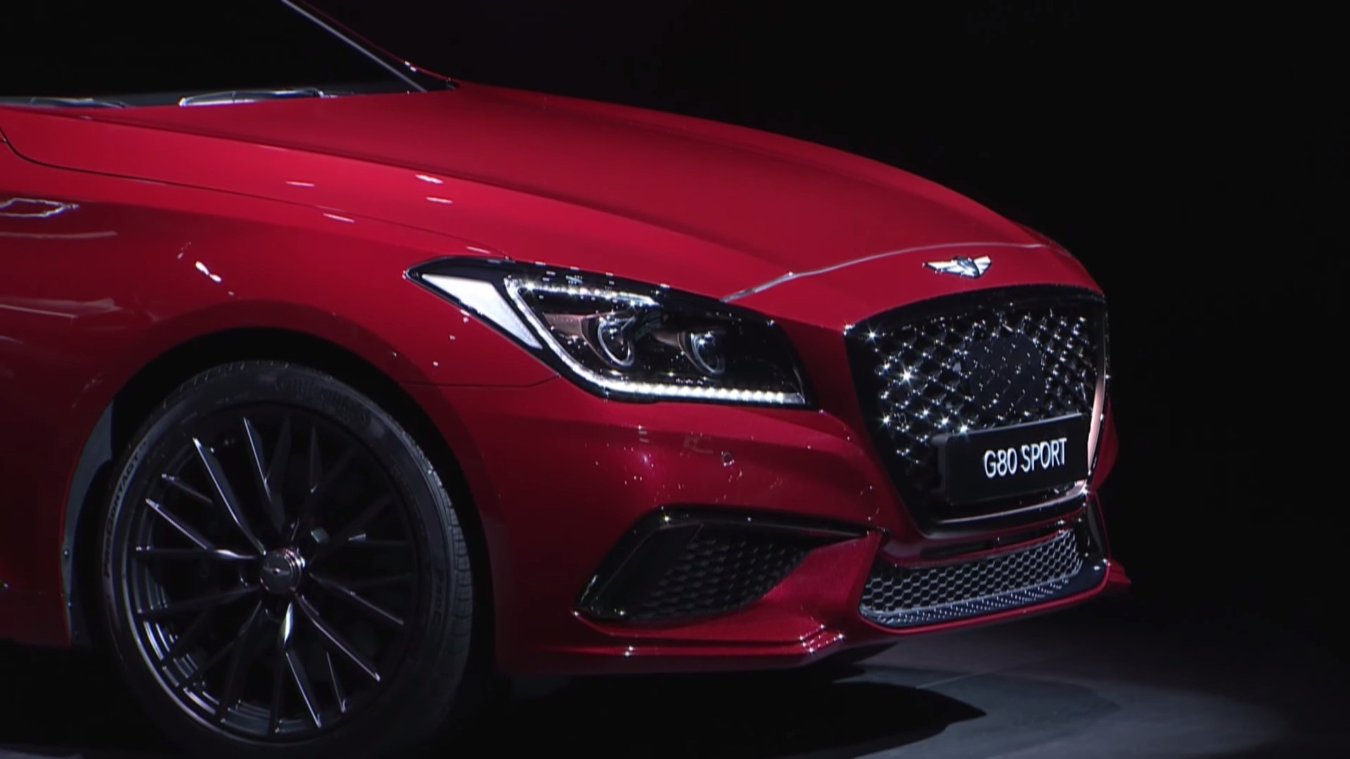 2017 Genesis G80 Unveiled at 2016 Busan Auto Show 1920x1080