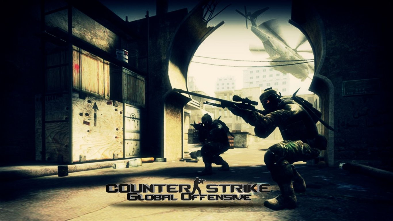 Top Wallpapers Counter Strike Source Wallpapers 1366x768