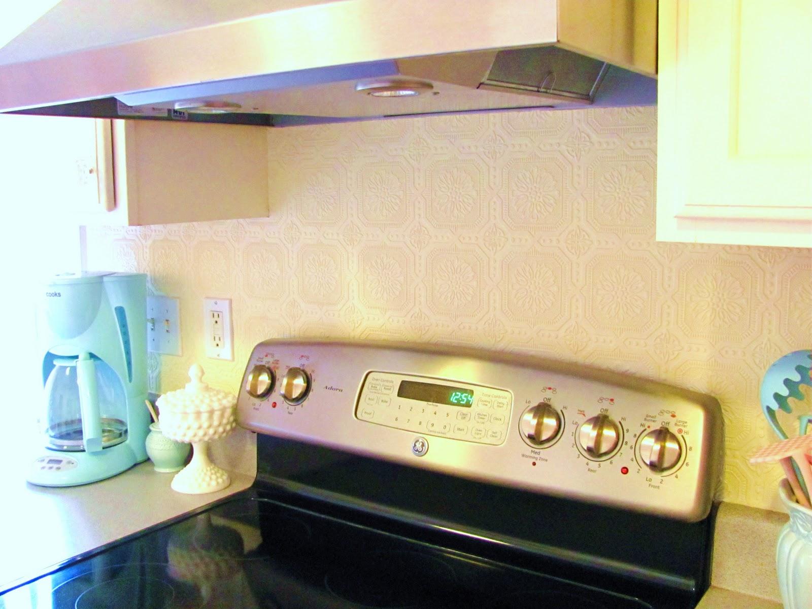 Vinyl Wallpaper Backsplash Wallpaper backsplash diy 1600x1200