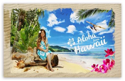 Aloha from Hawaii HD desktop wallpaper Widescreen High Definition 510x330