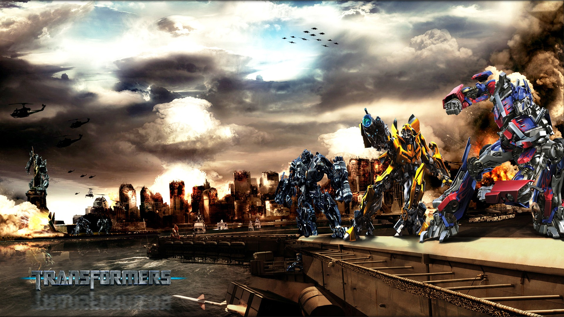 HD Transformers Wallpapers Backgrounds For Download 1920x1080