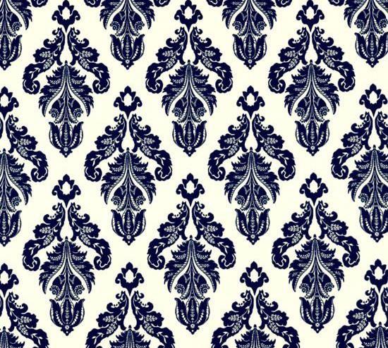 Navy Blue Damask Wallpaper PicsWallpapercom 550x494