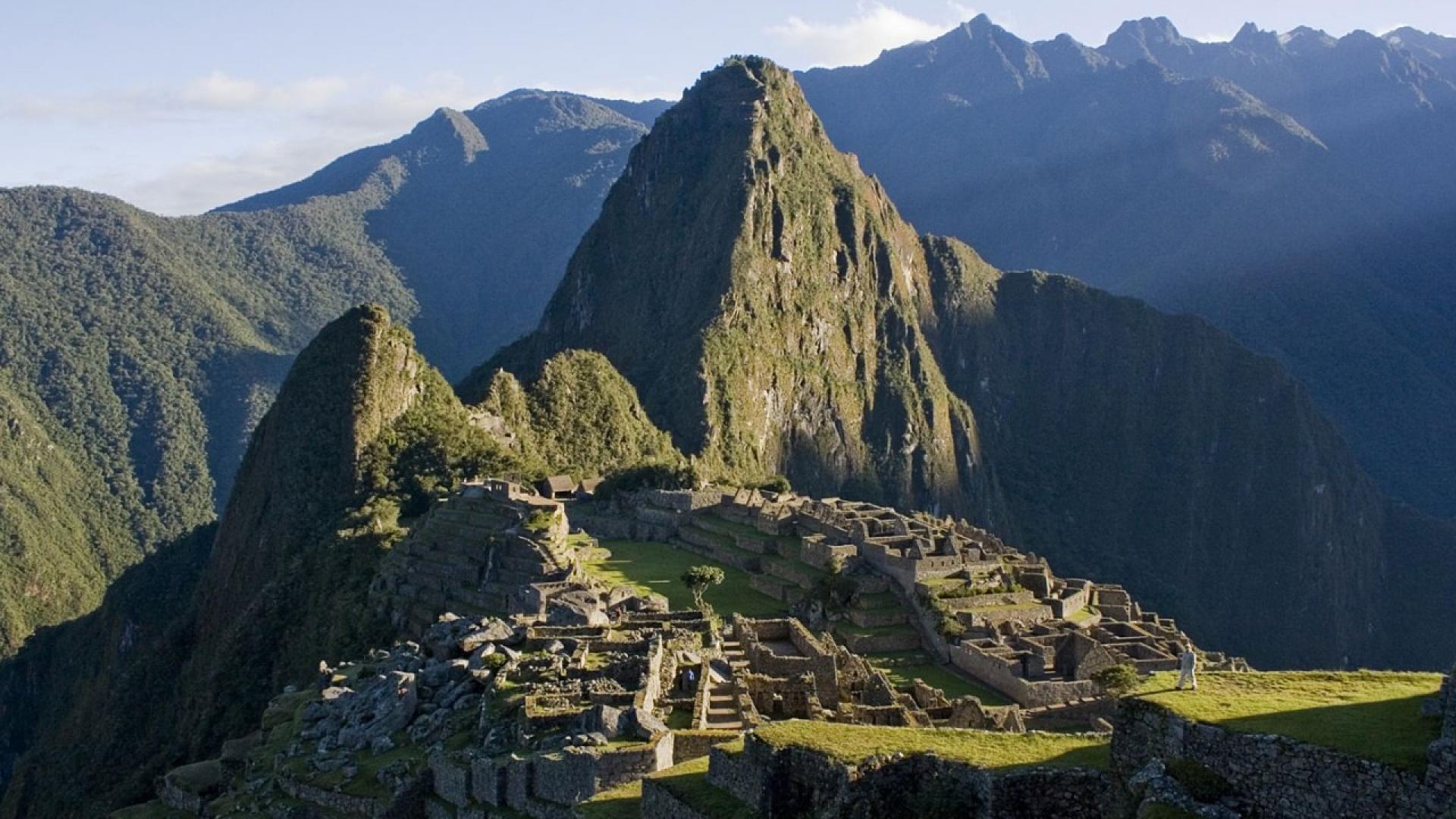 мачу-пикчу перу Machu Picchu Peru Machu Picchu  № 393769  скачать