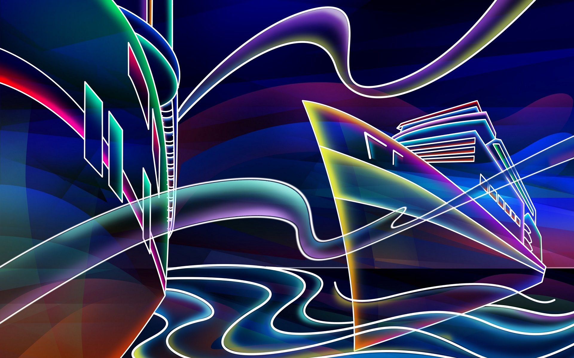 Neon wallpaper 15 awesome Collection 1920x1200