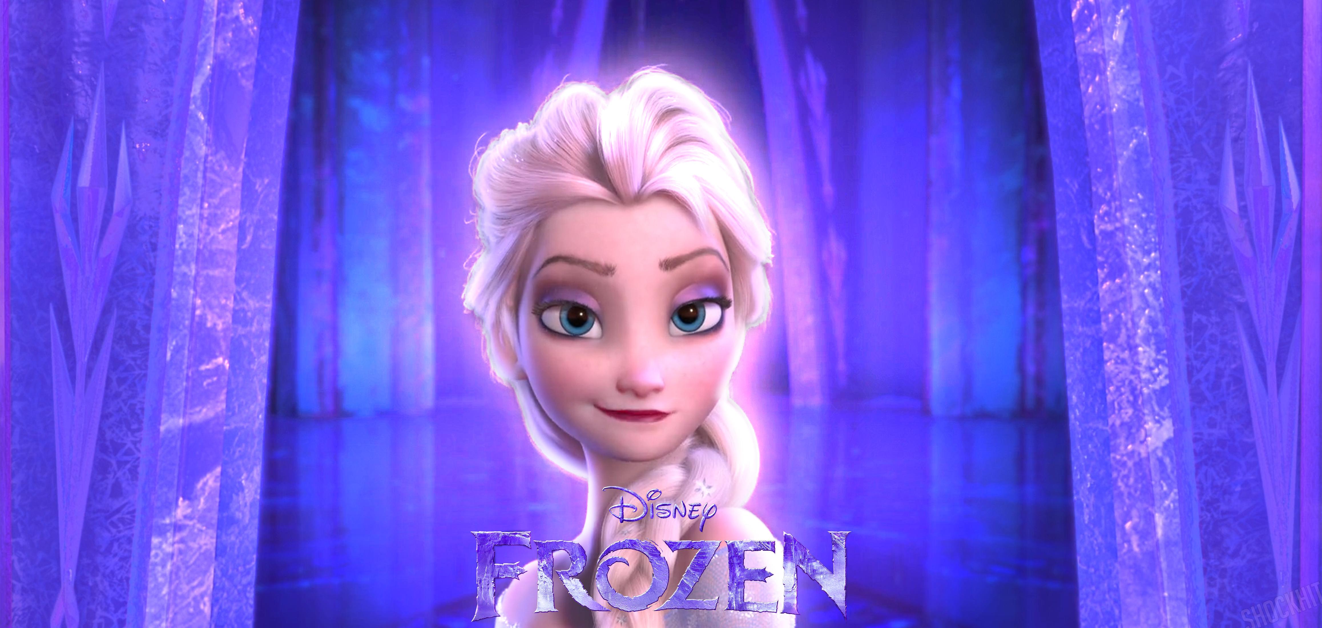 Queen Elsa Frozen Wallpaper Queen elsa frozen by 4632x2200