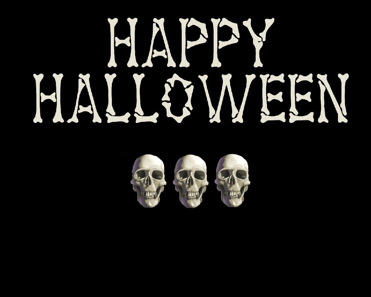 halloween skeleton wallpaper - photo #16