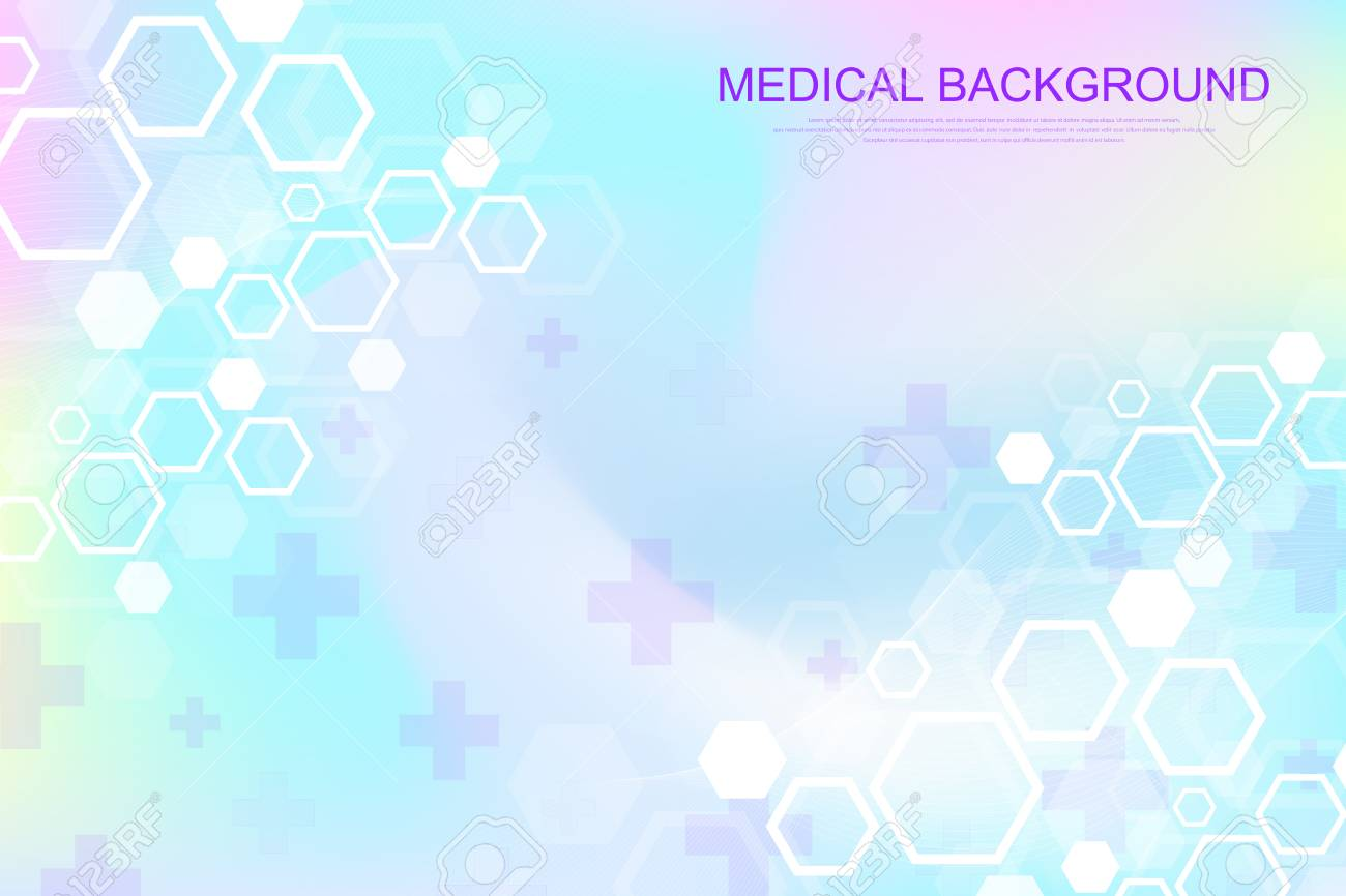 Abstract Medical Background DNA Research Molecule Genetics 1300x866