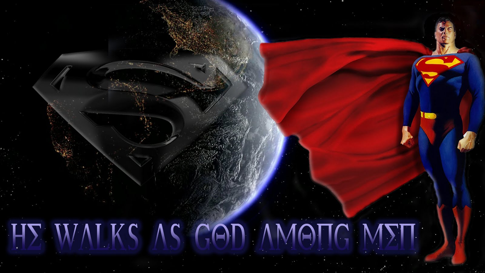Superman Wallpapers Beautiful Cool Wallpapers 1600x900