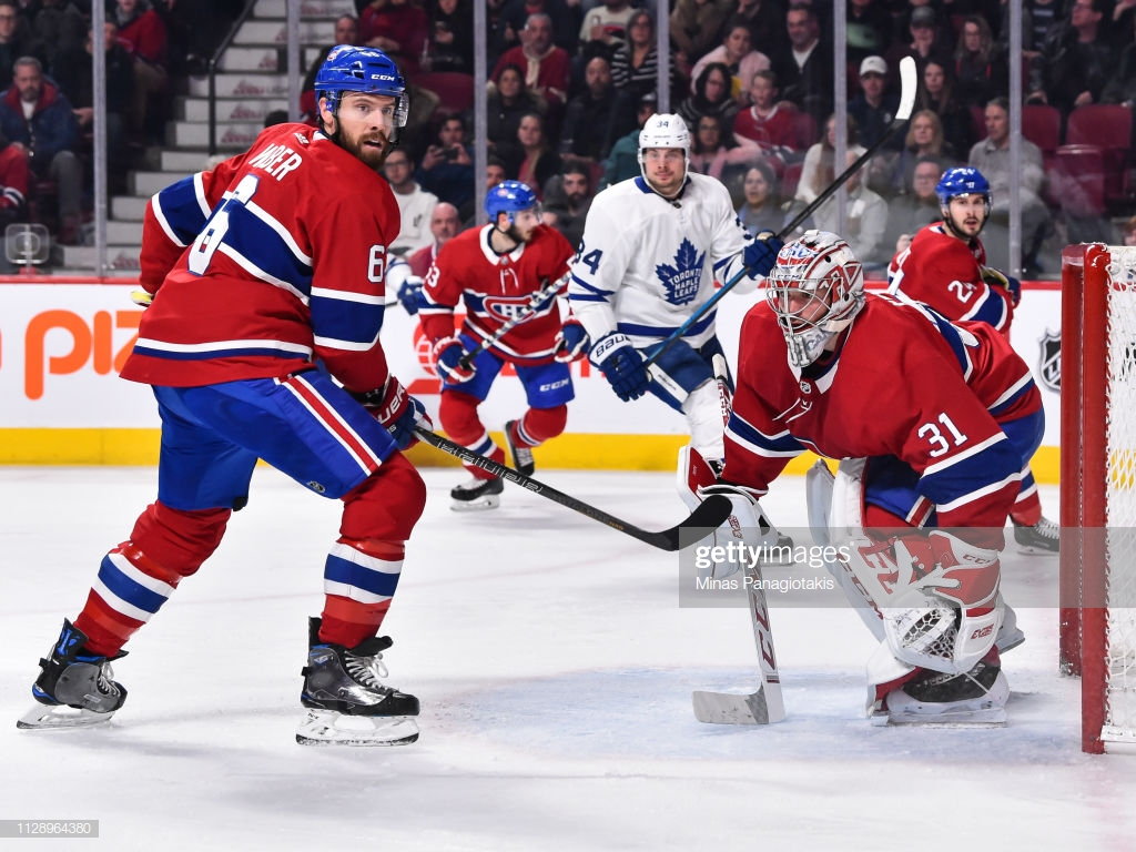 Shea Weber of the Montreal Canadiens and goaltender Carey Price 1024x768