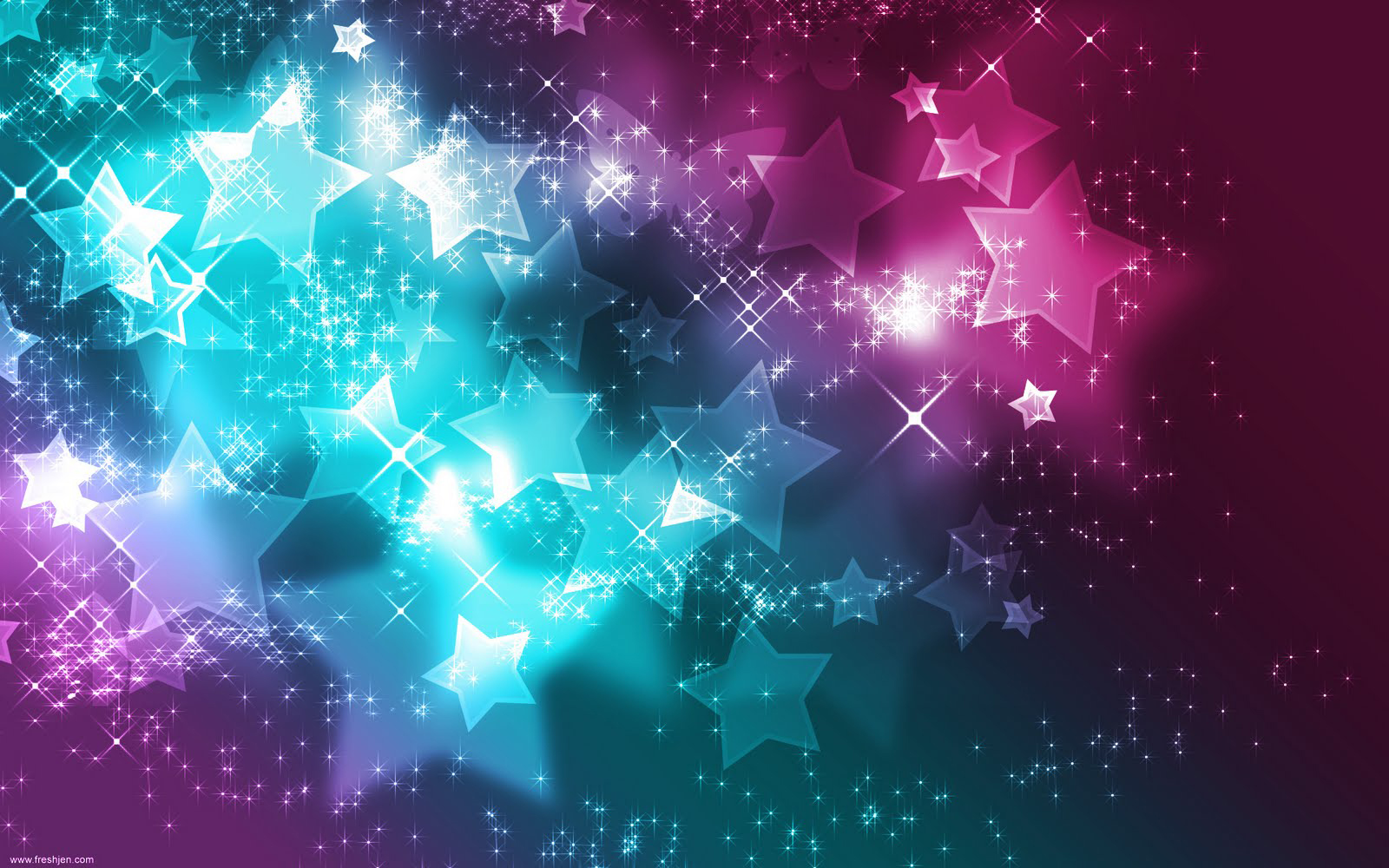 free cool custom twitter backgrounds neon stars pink 1600x1000