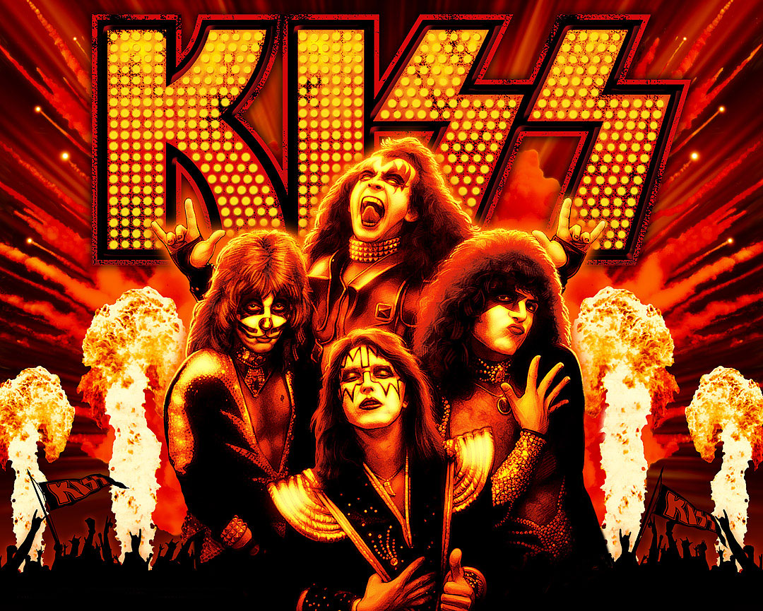 Pics Photos   Rock Band Wallpapers Kiss 1080x865