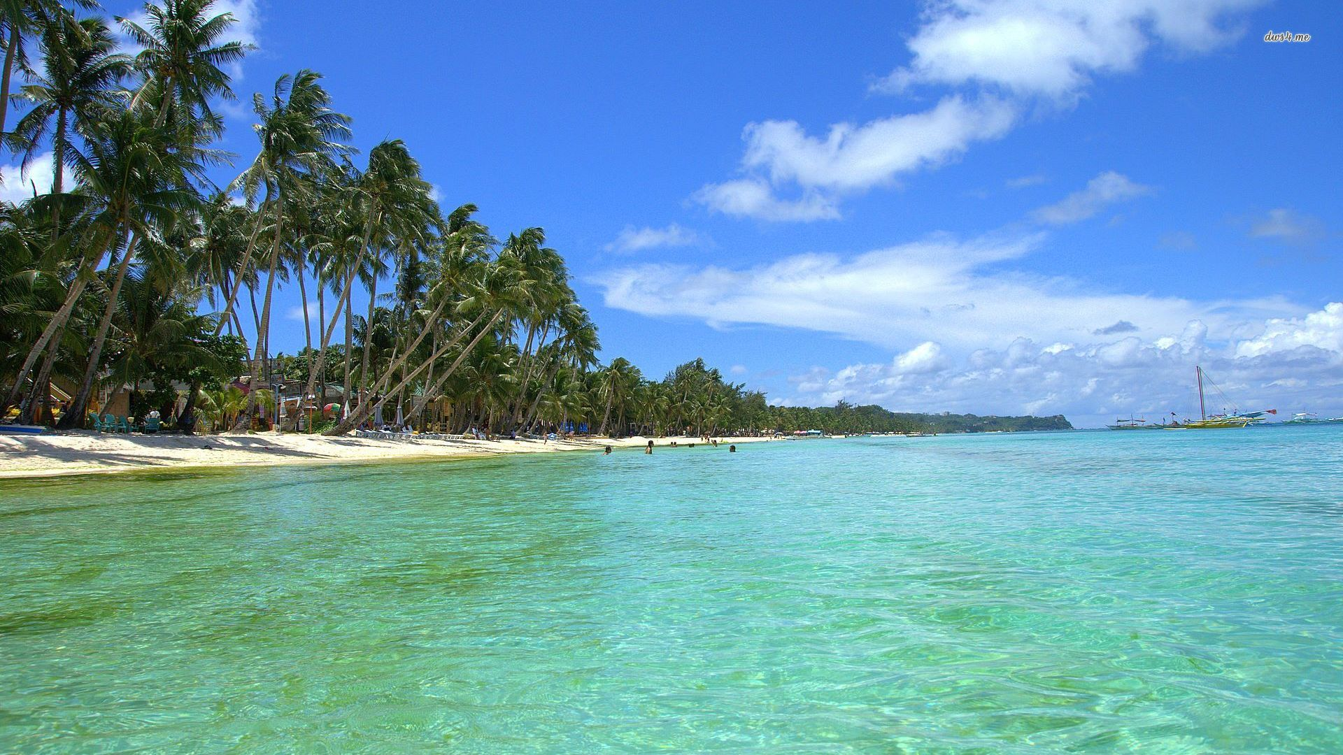Tropical Beach Backgrounds Download HD Wallpapers 1920x1080