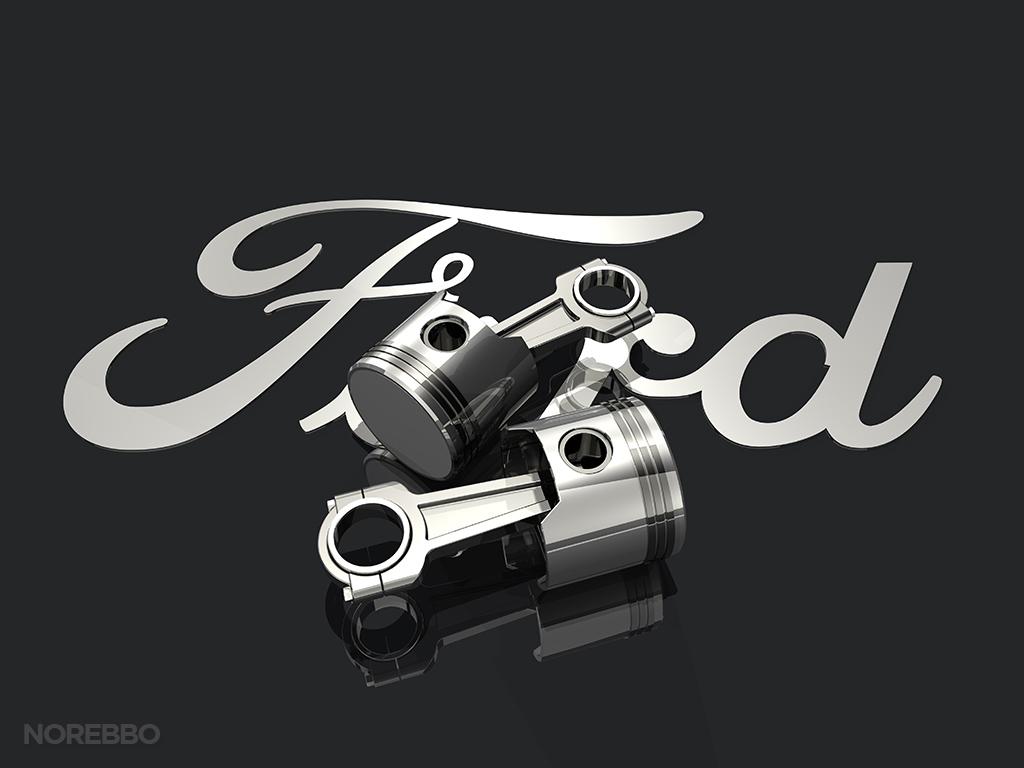 R K Qf on Ford Motor Pany Logo