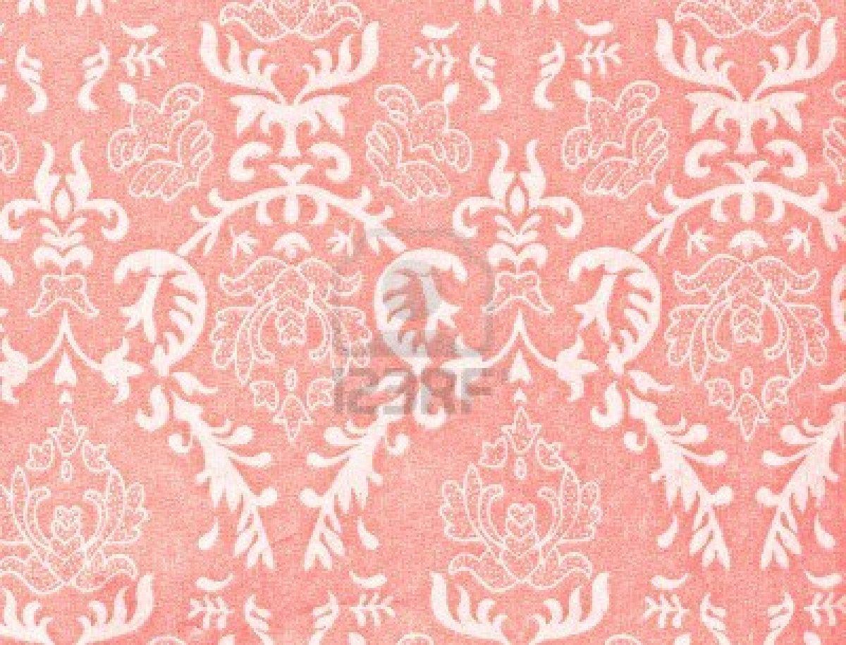 46 Pink Vintage Wallpaper On Wallpapersafari