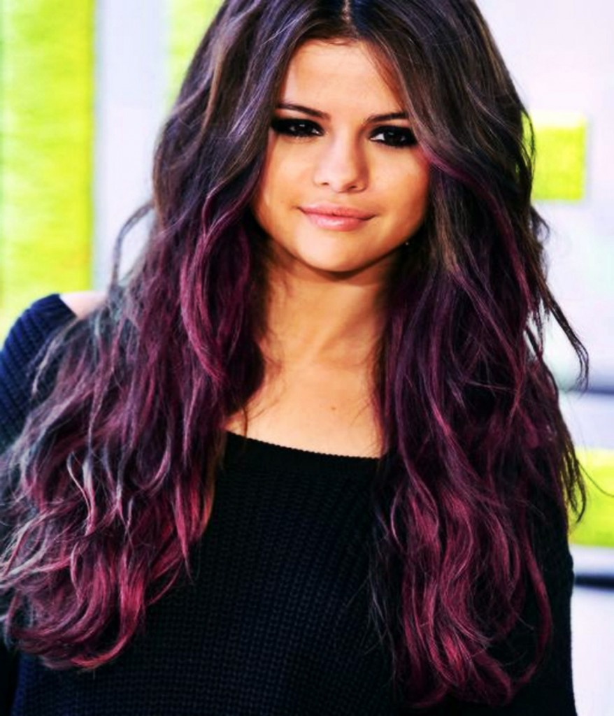 Selena Gomez Layers Hairstyle 2015 878x1024