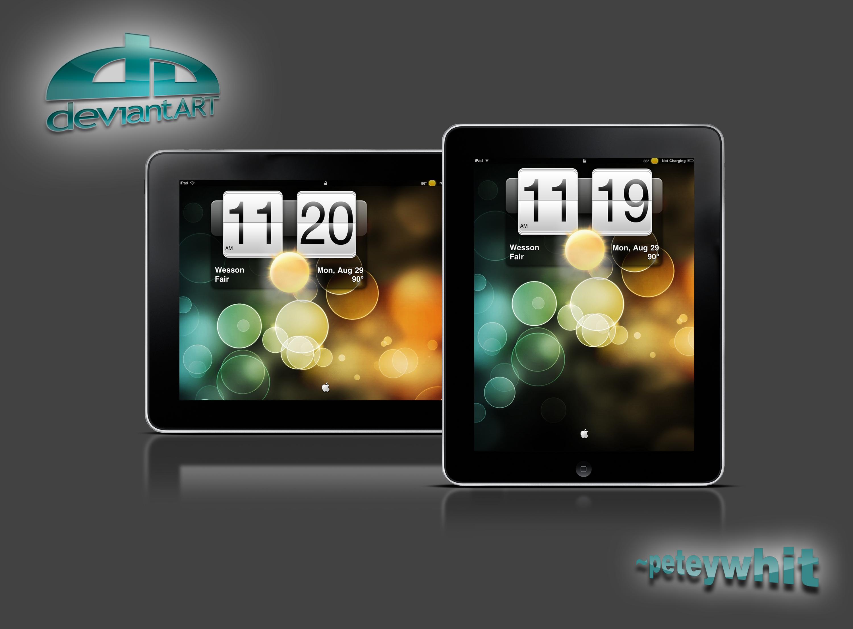 iPad HTC Lockscreen by peteywhit 3000x2208