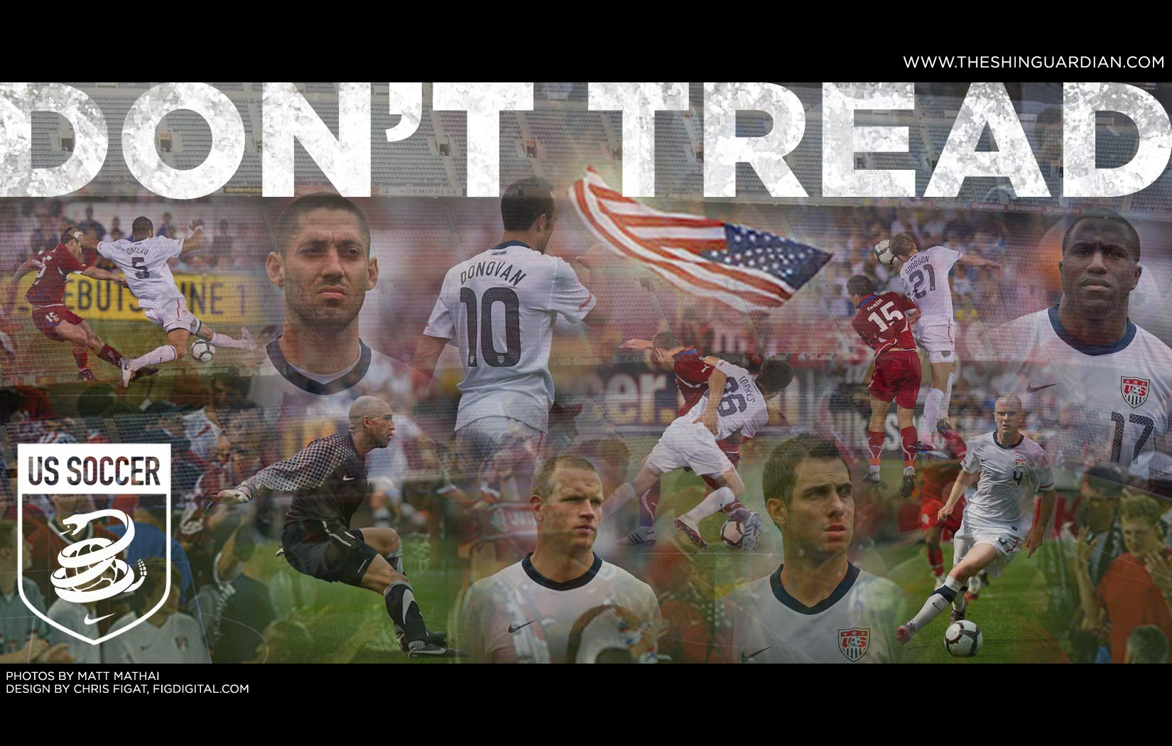 More USMNT Computer Wallpaper The Shin Guardian 1650x1050