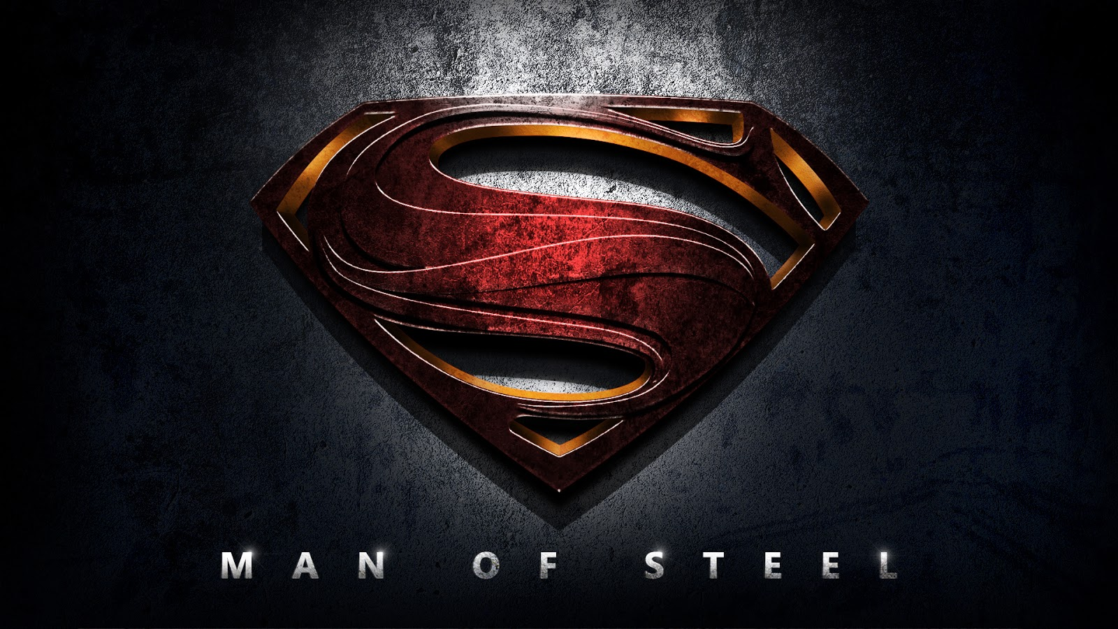 High Quality Images Super Man The Man of Steel Wallpaper 1600x900