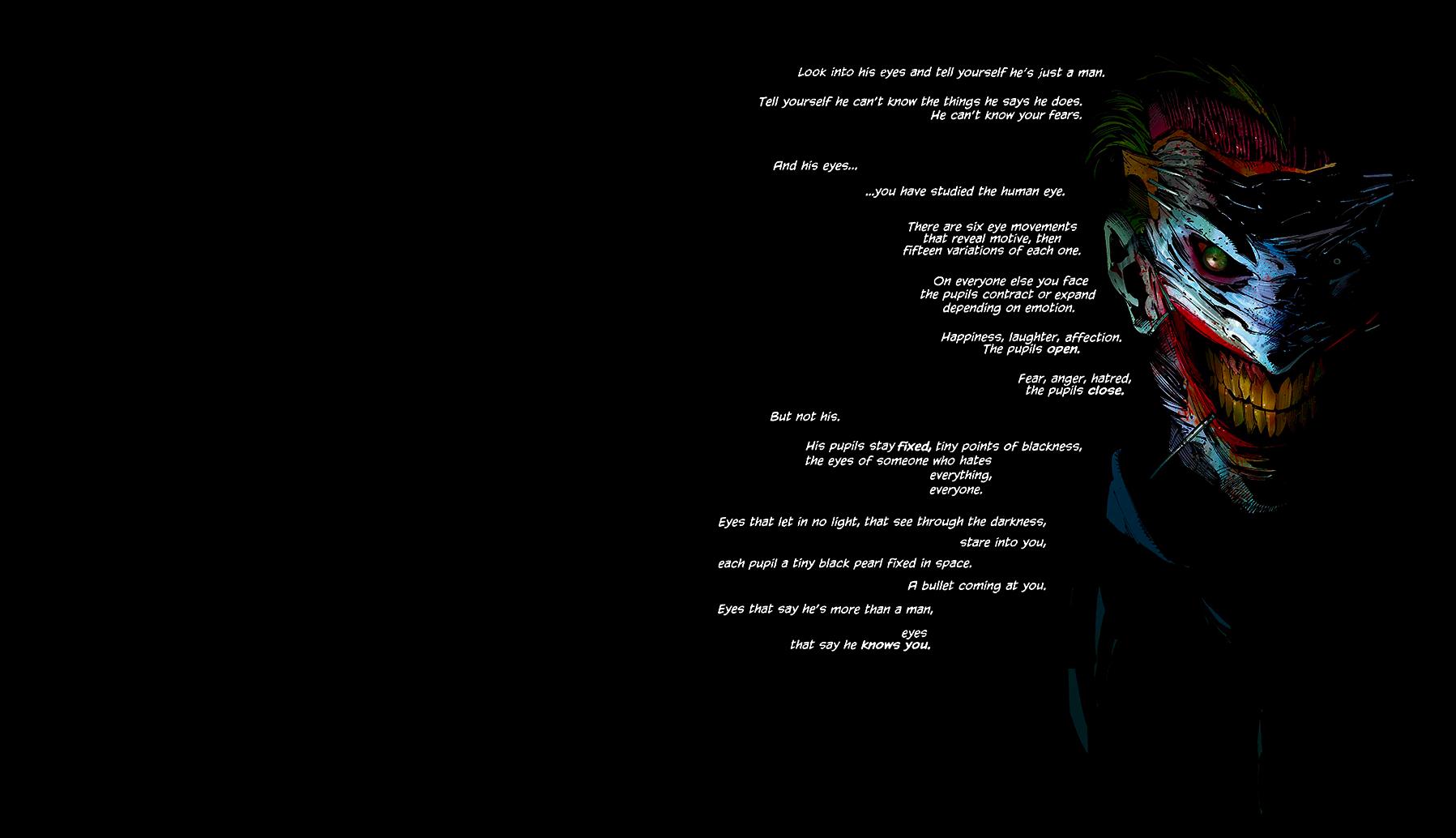 Joker Batman New 52 [1920x1080] wallpapers 1797x1034