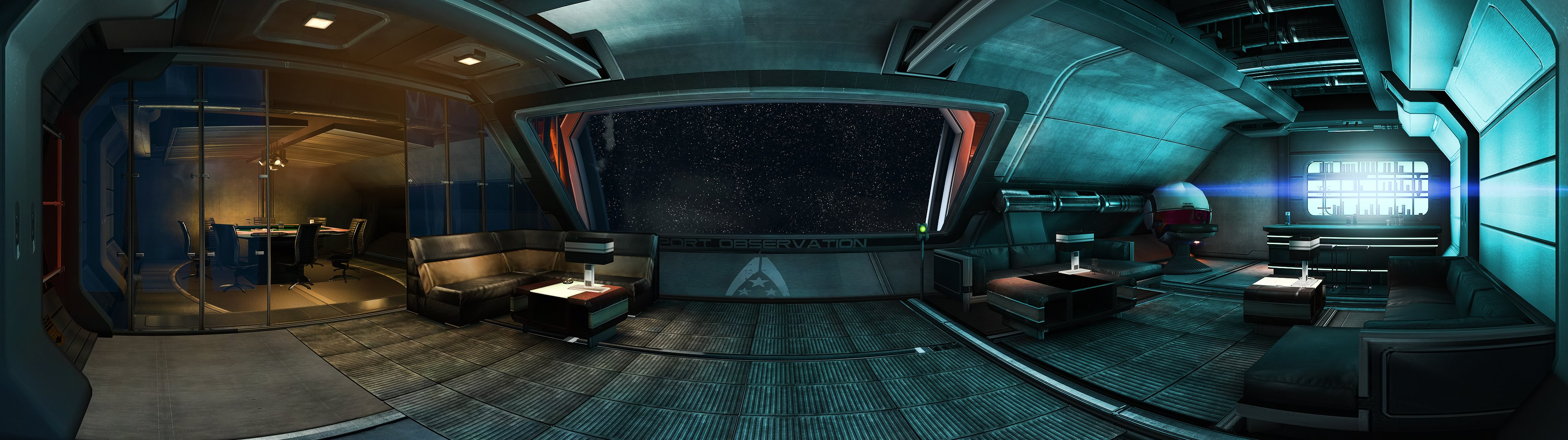 Mass Effect Update Normandy SR 2 3840x1080
