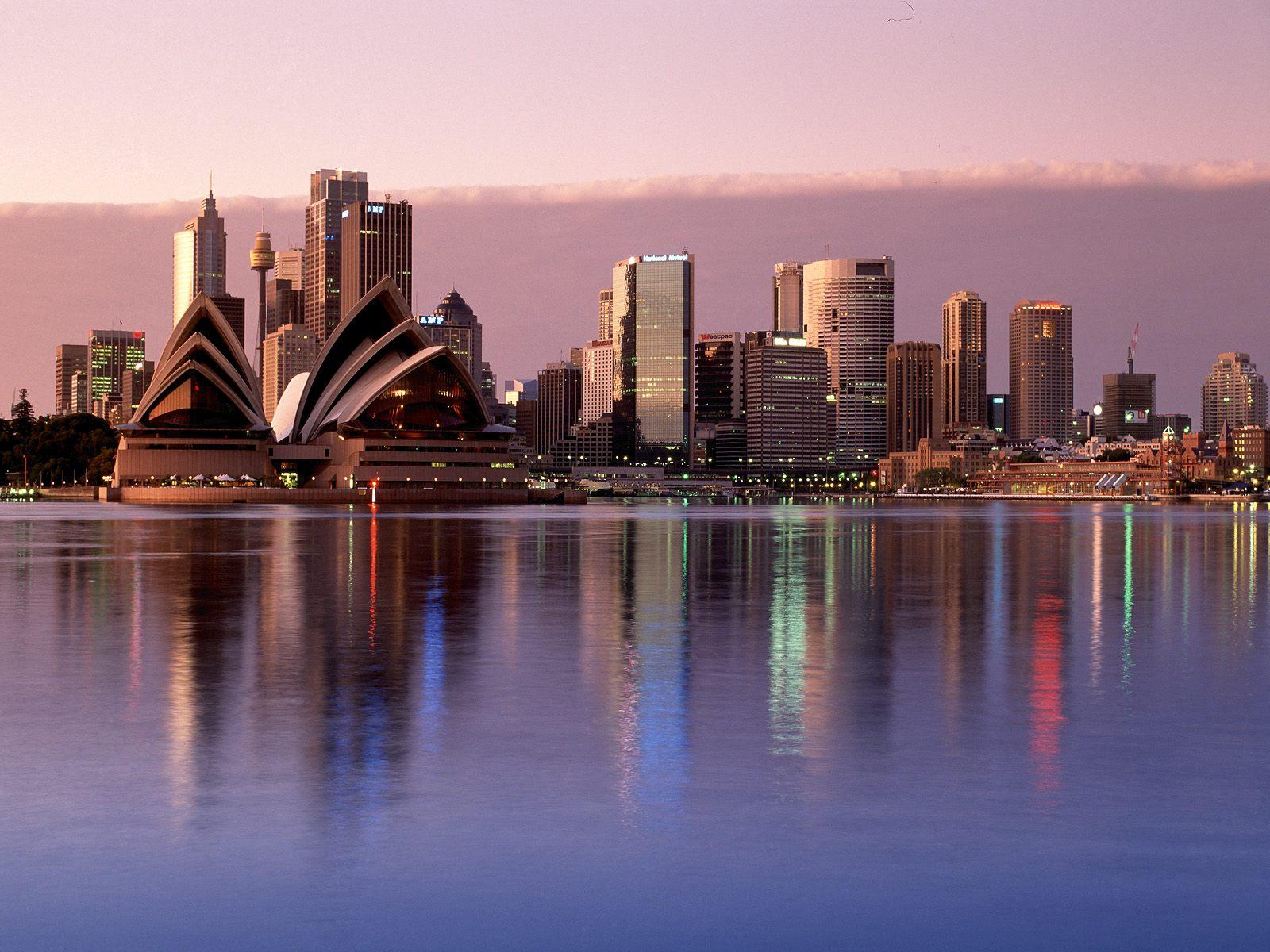Cityscape Australia   MelbourneSydney Hd Desktop Wallpaper 1600x1200