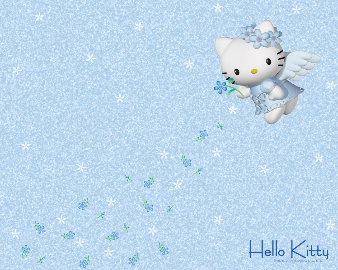 Hello Kitty Winter Wallpapers 1280x1024