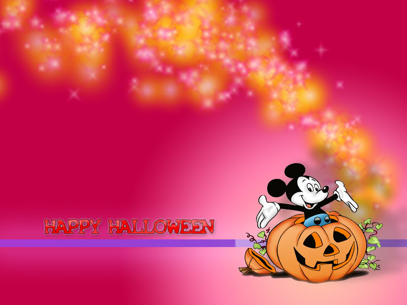 45 Mickey Halloween Wallpaper