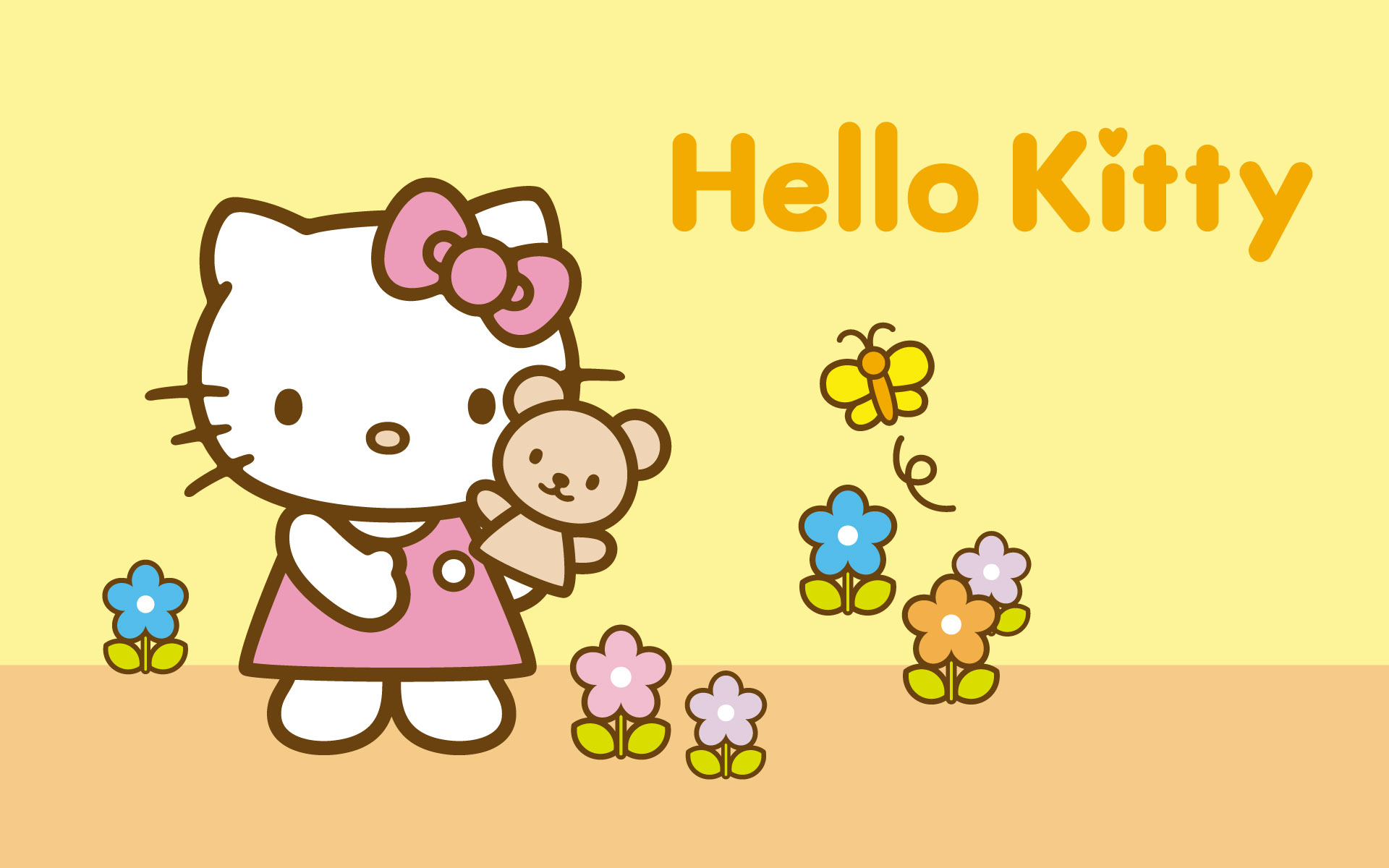 Wallpapers   Hello Kitty Wallpaper 28941578 1920x1200