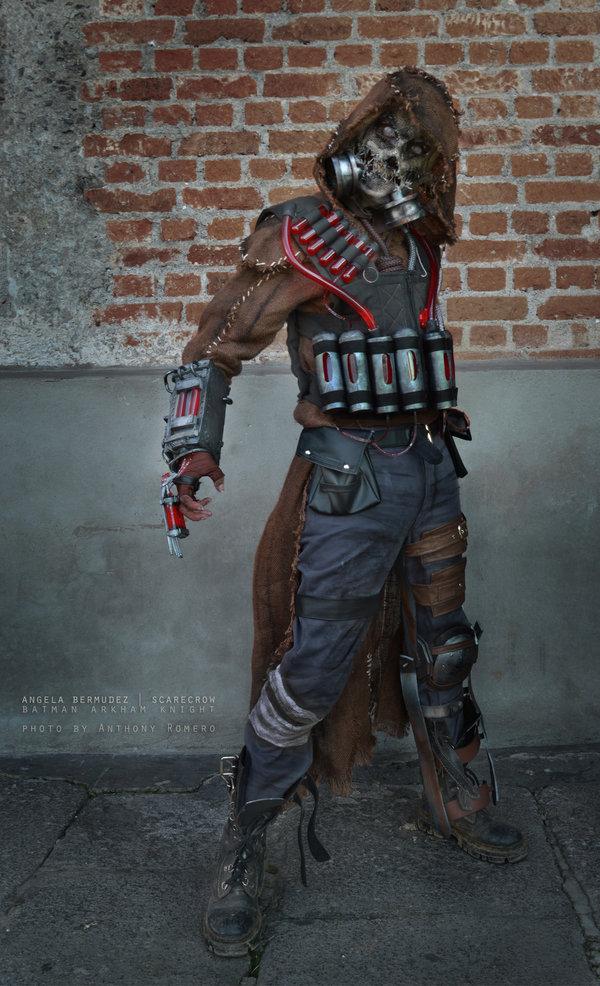 Scarecrow   Batman Arkham Knight by AngelaBermudez 600x986