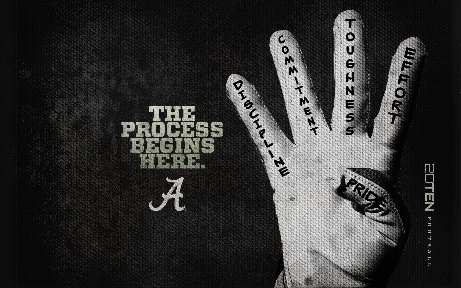 wallpaper alabama crimson football desktop glove colorado 1920x1200