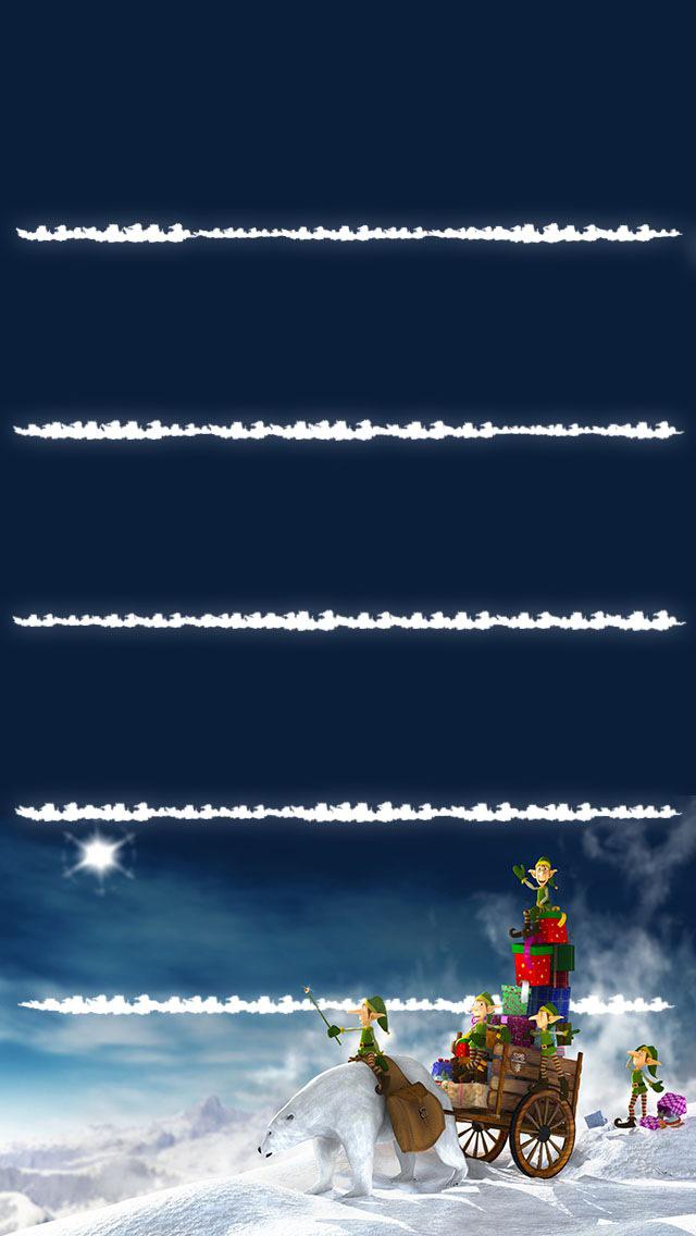 Christmas Homescreen Wallpaper   123mobileWallpaperscom 640x1136