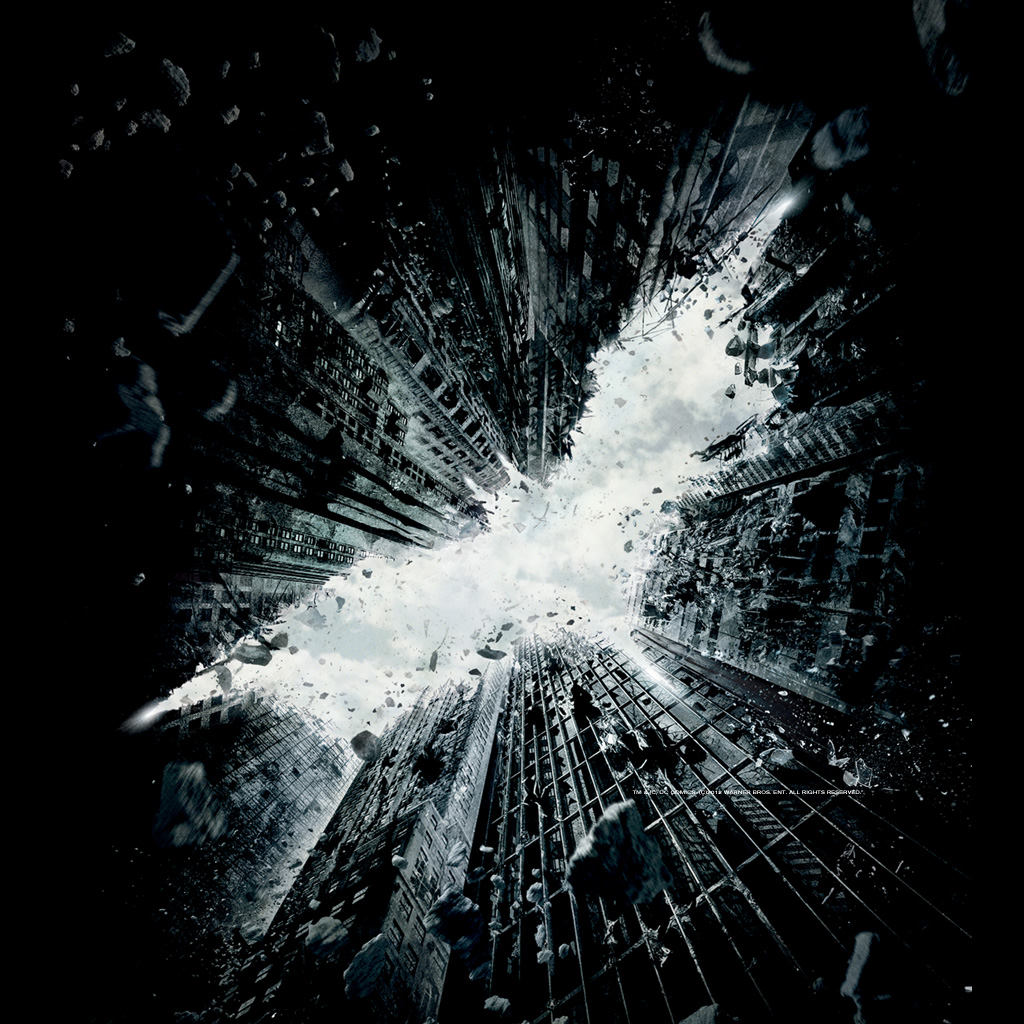 The Dark Knight Rises Tablet Wallpapers Tablet PC Wallpapers 1024x1024