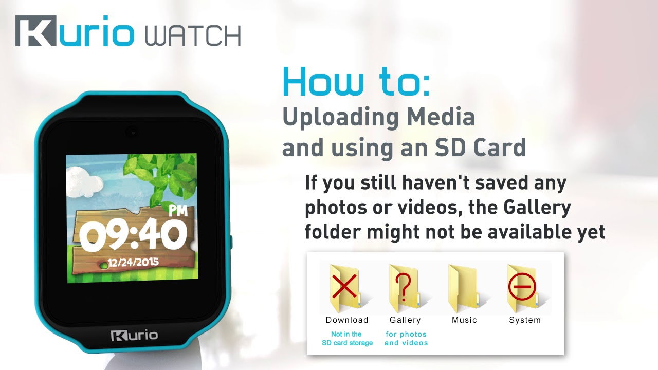 Kurio Watch How to Connect to USB and Use SD Card 1280x720