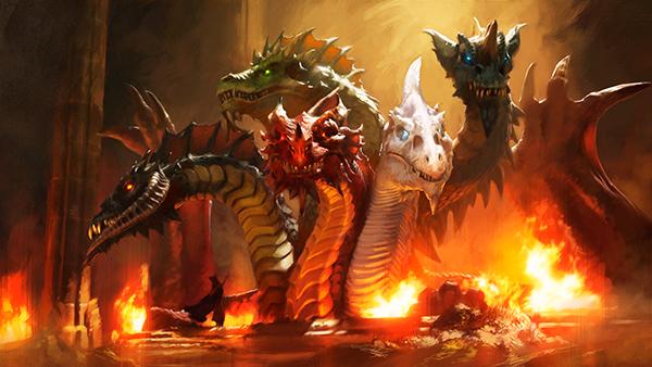 Wallpapers Tyranny of Dragons Set 3 600x338