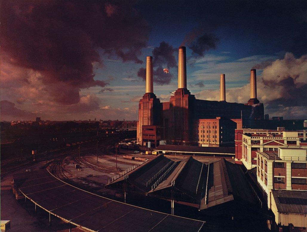 Pink Floyd Animals Cover Desktop Wallpaper 1028x777