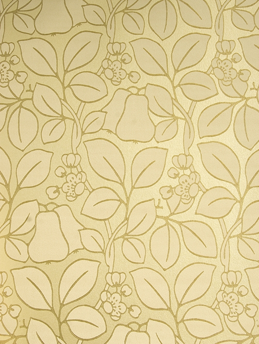 white and gold floral wallpaper - photo #22