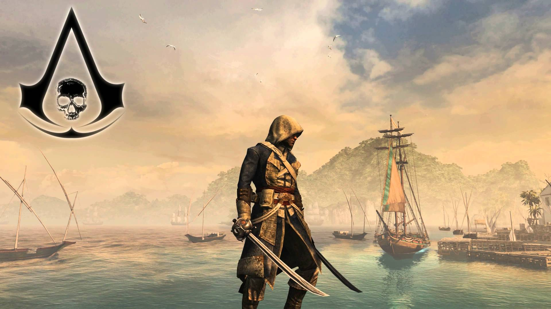 4K Ultra HD Live Wallpaper   Assassins Creed IV Black Flag 1920x1080