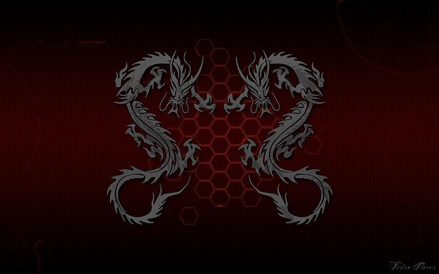 Wallpaper Cyber Dragon HD 1920x1200 by DShepe 900x563
