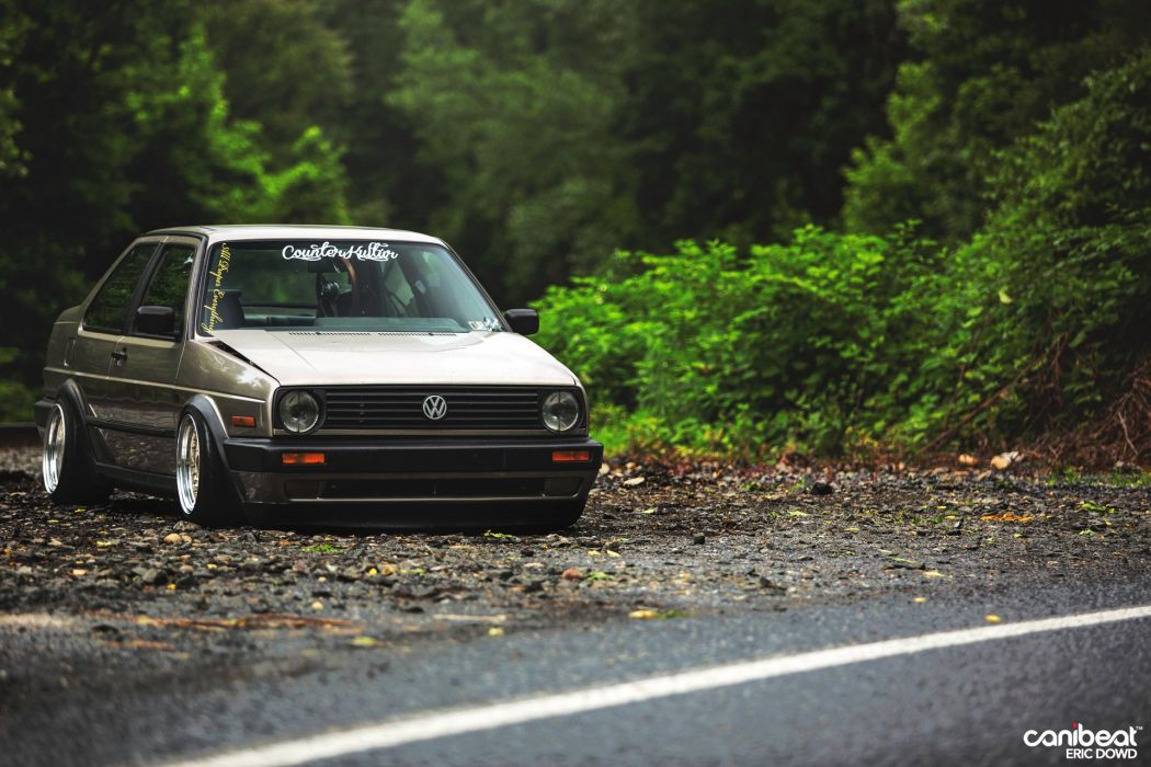 MK2 Volkswagen Jetta Coupe tuning custom wallpaper 1920x1280 1050x700