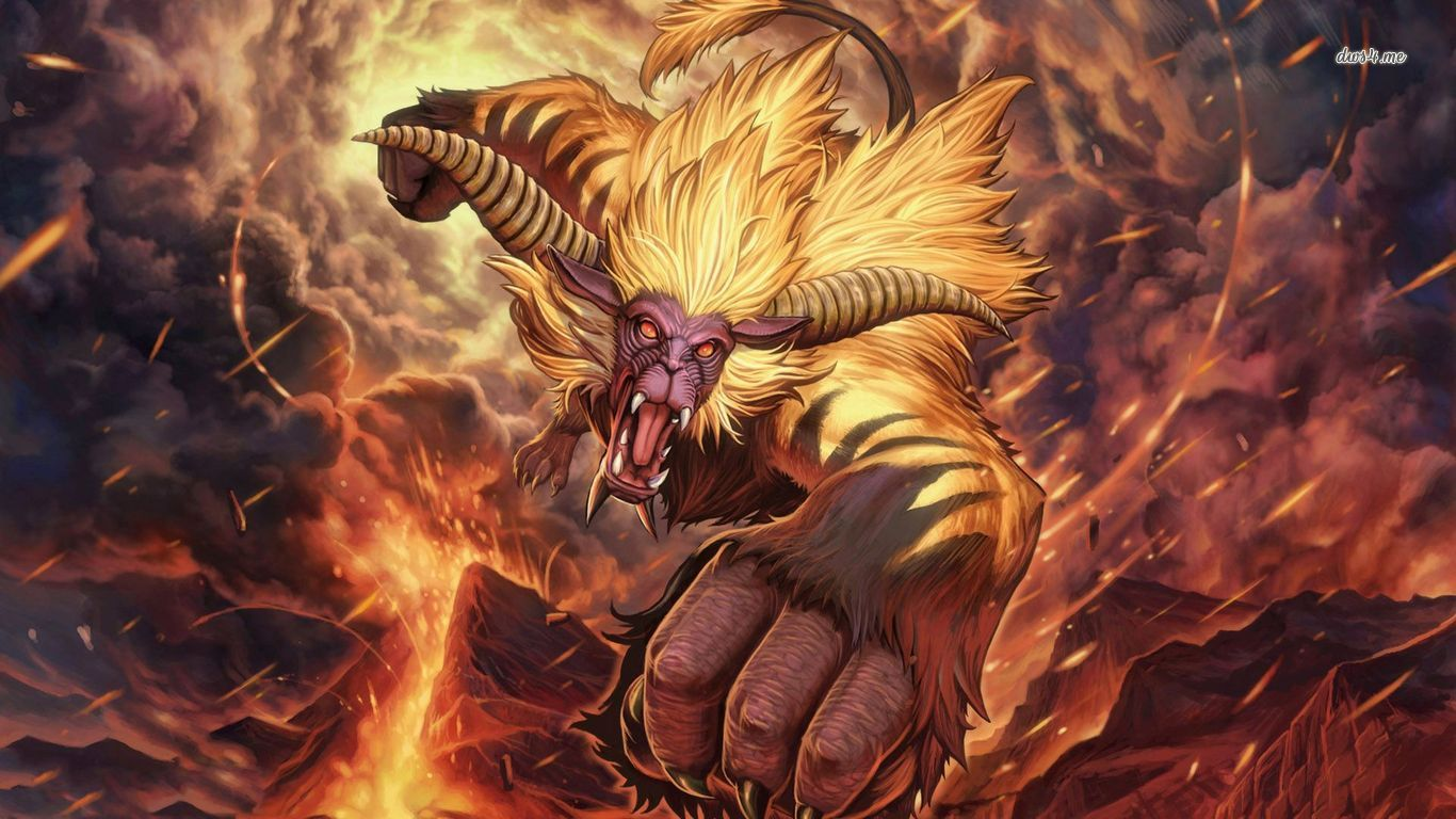 Rajang   Monster Hunter wallpaper   Game wallpapers   30720 1366x768