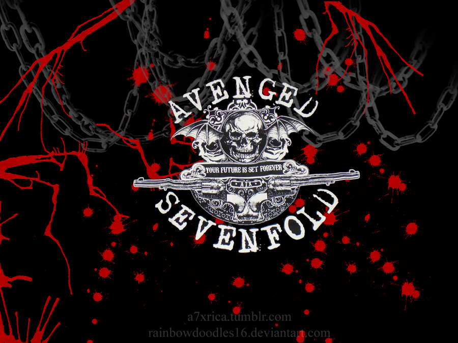 Avenged Sevenfold Wallpaper by rainbowdoodles16 900x675