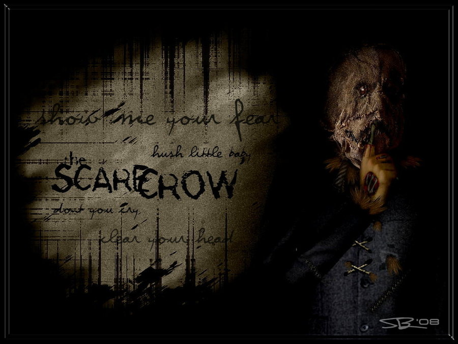 Batman Begins Scarecrow Wallpaper The scarecrow by ryansd 900x677