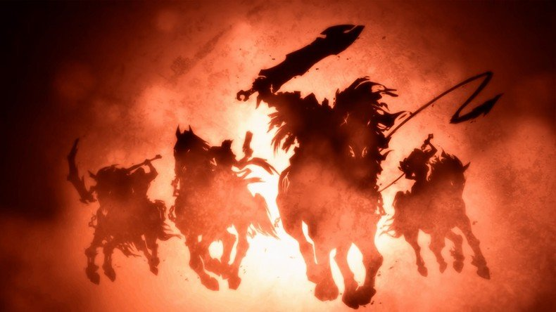 Darksiders Four Horsemen Wallpaper Darksiders ii   four horsemen 790x444